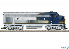 Santa Fe Diesellok F7A