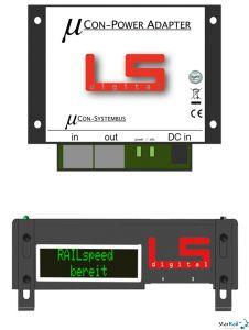 µCon-Railspeed Set  mit Power Adapter