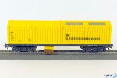 H0 Gleisstaubsaugerwagen für Zweileitersystem
