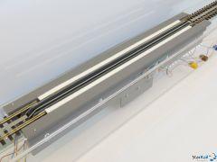 H0 Radreinigungsanlage Tischgerät mit Decoder