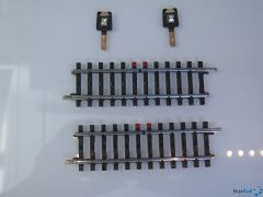 K-Gleis Kontaktgleis-Satz Länge 2x 90 mm