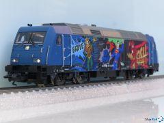 Diesellokomotive Superhelden