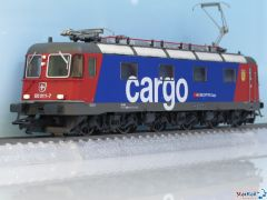 Elektrolokomotive SBB Cargo Re 620 011-7 Rüti ZH Digital Sound