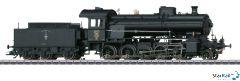Dampflokomotive mit Schlepptender SBB C 5/6 Digital Sound Rauch