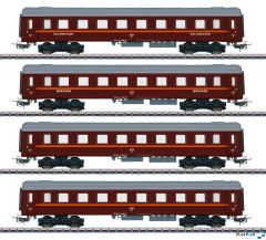 "Personenwagen-Set ""Tin Plate"""