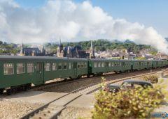 Personenwagen-Set M2 SNCB