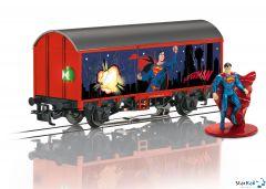 Gedeckter Güterwagen Superman
