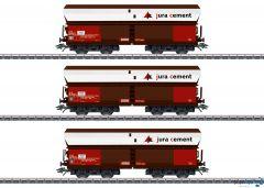 Güterwagen-Set SBB Fals jura cement