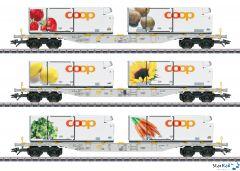 Containertragwagen-Set Coop