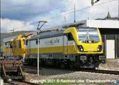 Elektrolokomotive Rem 487 SwissRailTraffic