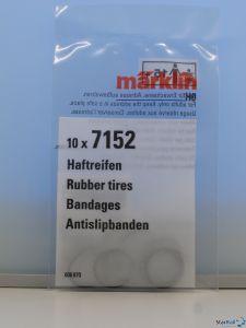 H0 Haftreifen-Satz Ø 13 mm Rad-Ø 20-xx mm 10 Stück