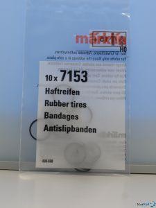 H0 Haftreifen-Satz Ø 11 mm Rad-Ø 14-18 mm 10 Stück