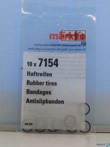 H0 Haftreifen-Satz Ø 8 mm Rad-Ø 10-1x mm 10 Stück