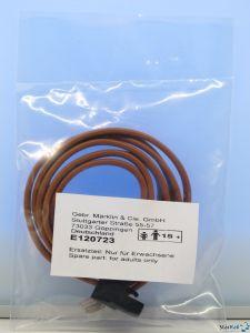 Kabel mit Stecker zum Anschluss am C-Gleis und der CS