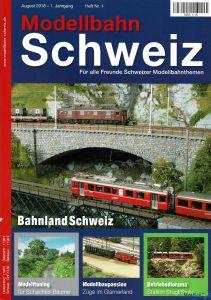Modellbahn Schweiz Heft Nr. 1