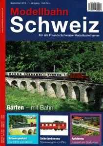 Modellbahn Schweiz Heft Nr. 4