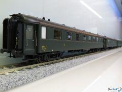 3-teiliges Set SNCF OCEM A4myfi 2390, B4myfi 20456 & 20453 Epoche IIIb