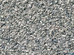 Gleisschotter grau