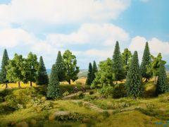 Mischwald 16 Bäume 10 - 14 cm hoch