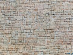 """3D-Kartonplatte """"Kalksteinmauer"""""""