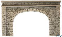 Tunnel-Portal 2-gleisig 22x13cm