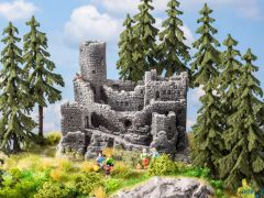 Burgruine für H0, TT und N
