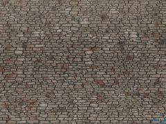 3D-Strukturfolie Bruchsteinmauerwerk