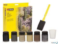 Naturfarben-Set 6 Farbkonzentrate