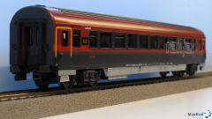 Schnellzugwagen 1. Klasse Railjet ÖBB VI