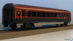 Schnellzugwagen 2. Klasse Railjet ÖBB VI