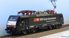 Elektrolok ES64 F4 BR 189 SBB Cargo International Märklin-System