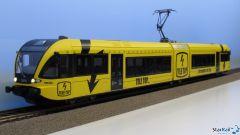 Triebwagen GTW 2/6 THURBO Radio / Tele Top Analog