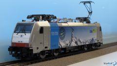 Elektrolok BR 186 RAILPOOL vermietet an BLS Cargo Analog