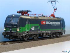 Elektrolok BR 193 ELL vermietet an SBB Cargo Int. Analog