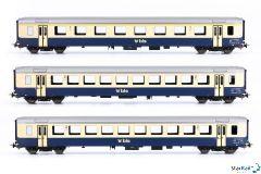 3-teiliges Set BLS Einheitswagen I Ep. V Märklin-System