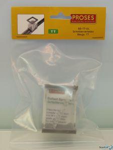 Schotterverteiler für TT / H0m