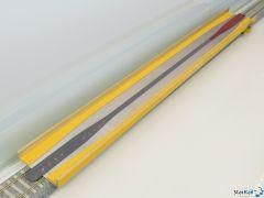 H0 Aufgleiser mit Stromübertragung von der Schiene