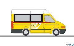 Iveco Daily Bus & Kasten Die Post (CH)