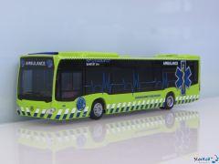 Mercedes Benz Citaro '15 Ambulance Grossraumrettungswagen Basel