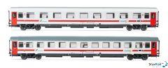 2-teiliges Set Trenitalia Reisezugwagen UIC-Z1 Intercity Sun VI