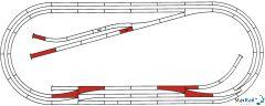 ROCO LINE Gleisset E