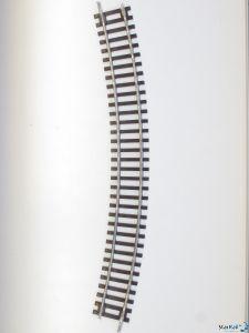 Gebogenes Gleis R4 30°