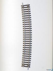 Gebogenes Gleis R9 15°