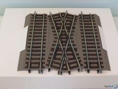 Mittelstück für doppelte Gleisverbindung DGV15