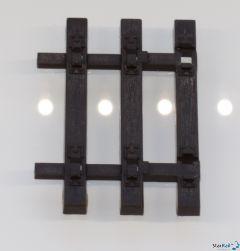 Schwellenendstück Flexgleis Holzschwellen
