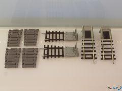 Gleisabgänge Zweileiter