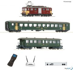z21 Digitalset: Elektro-Gepäcktriebwagen SBB De 4/4 mit Personenzug