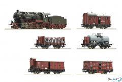 "6-teiliges Set: ""Preussischer Güterzug"" K.P.E.V. Märklin-System Sound"