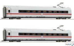 2-teiliges Set 1: Zwischenwagen ICE 3 (BR 407) DB AG Märklin-System Innenbeleuchtung