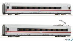 2-teiliges Set 2: Zwischenwagen ICE 3 (BR 407) DB AG Märklin-System Innenbeleuchtung